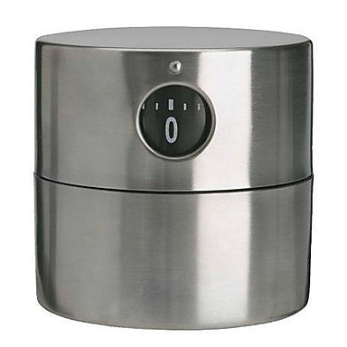 ORDNING Timer Stainless Steel Mechanical Kitchen Timer