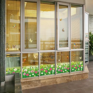 τοίχο αυτοκόλλητα αυτοκόλλητα τοίχου, το στυλ πεταλούδα για τα αυτοκόλλητα τοίχου λουλούδια από PVC