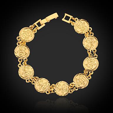 Kadın's Zincir & Halka Bileklikler / Bileklik - Platin Kaplama, Altın Kaplama Moda Bilezikler Altın Uyumluluk Özel Anlar / Doğumgünü / Hediye