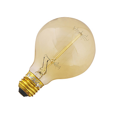 YouOKLight 40W 3200-3300 lm E26/E27 LED okrugle žarulje B 1 LED diode COB Ukrasno Toplo bijelo AC 110-130V AC 220-240V