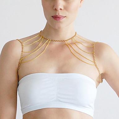 Women's Body Jewelry Body Chain Unique Design Fashion Alloy Jewelry Jewelry For Party