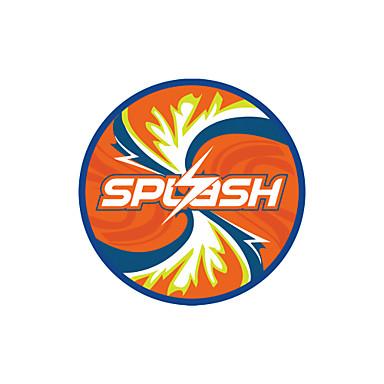 Winmax® Beach Games 9.5 Inch Neoprene Black/Orange/Blue Flying Dick/Frisbee