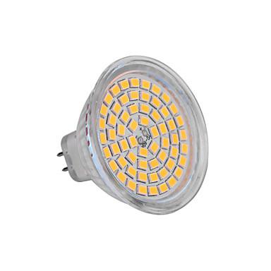 ywxlight® 5w gu5.3 (mr16) led spotlight mr16 60 smd 2835 350-400 lm sıcak beyaz soğuk beyaz dc 12 v