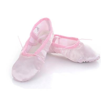 Buty do tańca-Damskie Dziecięce-Balet-Brak możliwości personalizacji-Płaski obcas-