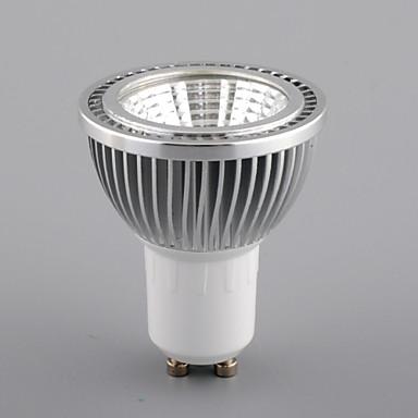 5W GU10 LED szpotlámpák MR16 1 COB 450 lm Meleg fehér / Hideg fehér / Természetes fehér Állítható AC 110-130 V 1 db.