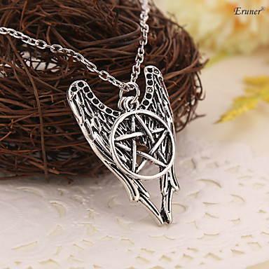 Necklace Pendant Necklaces Jewelry Daily / Casual / Sports Fashion Alloy Silver 1pc Gift