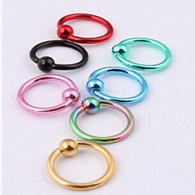 Kadın Vücut Mücevheri Dudak Piercingleri Labret, Lip Piercing Jewelry Kolczyki do nosa i ćwieki Burun pirsingi Paslanmaz Çelik Moda