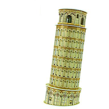 voordelige 3D-puzzels-diy torre di Pisa vormige 3D-puzzel