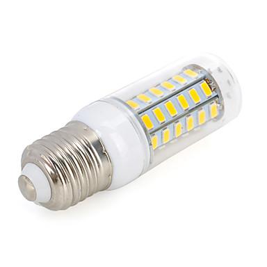 E26/E27 LED 콘 조명 T 56 LED가 SMD 5730 장식 따뜻한 화이트 차가운 화이트 800-1000lm 3500/6500K AC 220-240V