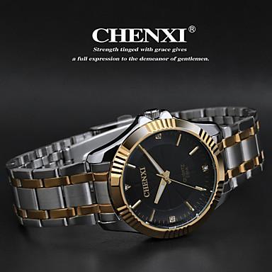 CHENXI®Men's Classic Business Style Steel Strap Quartz Watch Cool Watch Unique Watch