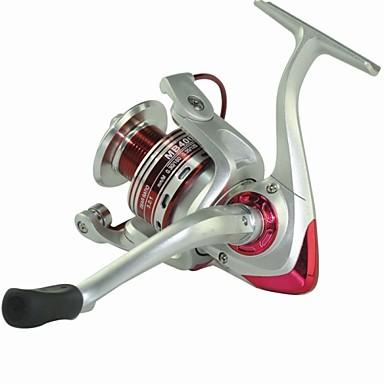 Moulinet pour pêche Moulinet spinnerbait 5.1:1 Braquet+8.0 Roulements à billes Orientation à la main Echangeable Pêche en mer Pêche aux