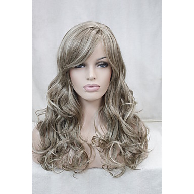 Synthetic Hair Wigs Classic Curly High Quality Capless Daily