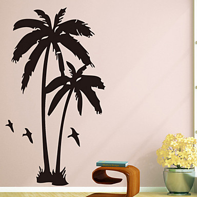 Animals Botanical Wall Stickers Plane Wall Stickers PVC Home Decoration Wall Decal Wall