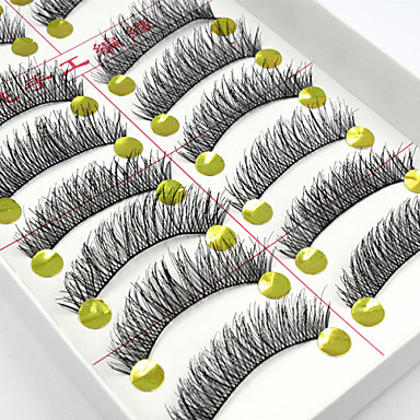 Eye Eyelash 10 Party Makeup Classic High Quality Daily