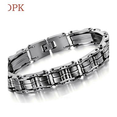 voordelige Herensieraden-Dames Armband Vintage Feest Werk Informeel Schakels / ketting Titanium Staal Armband sieraden Voor Dagelijks