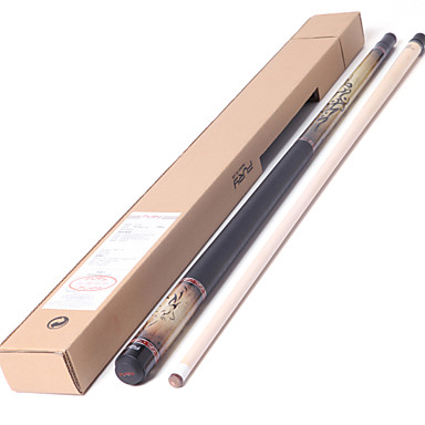 1/2 Jointed Maple Wood Billiard/Pool Cue Fury  Pool Cue Stick 12.75mm+PS14