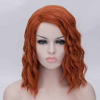 European And American Fashion Brown Hair Iron Corn Wig