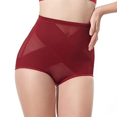 높은 탄성 여성의 높은 허리가 엉덩이를 들어 올려 복부 그리기 바지 산후 속옷