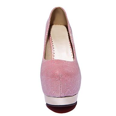 03039345 Printemps Talon Noir Rose Doré Chaussures Blanc Avec Similicuir Eté Aiguille Femme Automne Habillé Argenté Pour xZ4wSCq