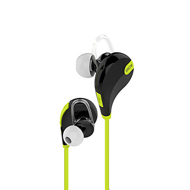 In Ear Wireless Headphones Plastic Driving Earphone with Volume Control with Microphone Headset