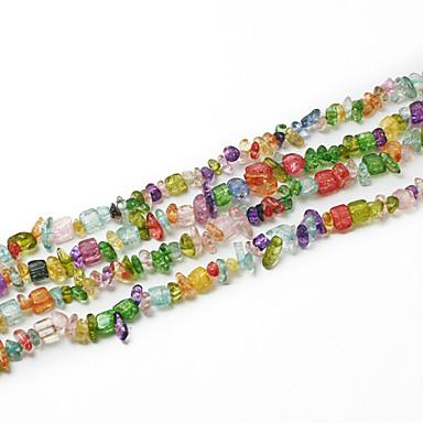Beadia Assorted Color Crystal Stone Beads 5-8mm Irregular Shape DIY Loose Beads For Making Necklace Bracelet 34