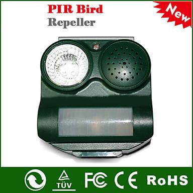 povoljno Oprema za ptice-otvoreni solarne energije ultrazvučni sigurno bezopasna pir ultrazvučni ptica repeller
