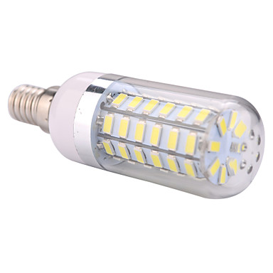 YWXLIGHT® 1pc 12 W 1200 lm E14 LED Mais-Birnen T 56 LED-Perlen SMD 5730 Warmes Weiß / Kühles Weiß 220-240 V / 110-130 V / 1 Stück