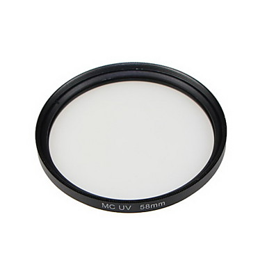 gpe 58 χιλιοστά MC-UV πολλαπλών στρώσεων με επικάλυψη φίλτρα για Canon Nikon