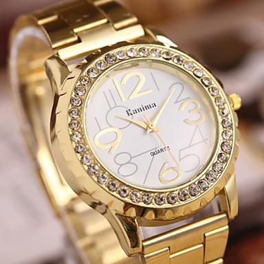 Damen Armbanduhr Quartz Gold Schlussverkauf Analog damas Glanz Freizeit Elegant - Gold Ein Jahr Batterielebensdauer / SSUO 377