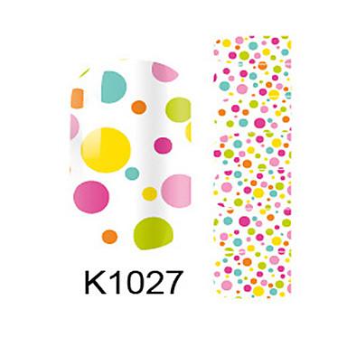 Fashion Nail Art Glitter Sticker