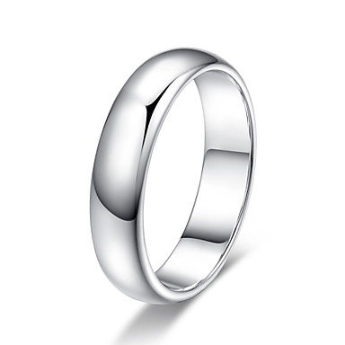Band Rings Crystal Simulated Diamond Alloy Simple Style Jewelry Wedding Party Daily Casual 1pc