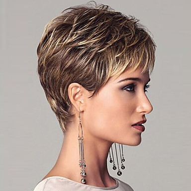 Synthetic Wig Straight Women's Capless Costume Wig