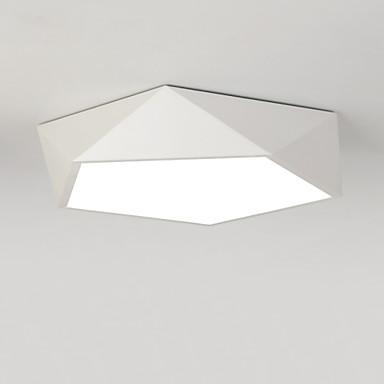Vestavná montáž Světlo dolů Malované povrchové úpravy Kov LED 110-120V / 220-240V teplá bílá / Bílá Žárovka je zahrnuta v ceně. / Integrované LED světlo