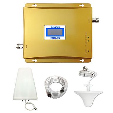Lintratek gsm 3g tekrarlayıcı 900mhz 2100 wcdma hücre sinyal yükseltici çift bant tekrarlayıcı airtel / beeline / digicel / vodafone