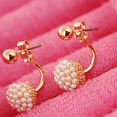 Damen Perle Ohrstecker - Perle, Künstliche Perle Kugel Modisch, Brautkleidung Farbbildschirm Für Hochzeit / Party / Alltag