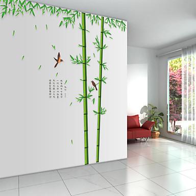 Eläimet Sarjakuva Kasvitiede Wall Tarrat Lentokone-seinätarrat Koriste-seinätarrat, Vinyyli Kodinsisustus Seinätarra Seinä