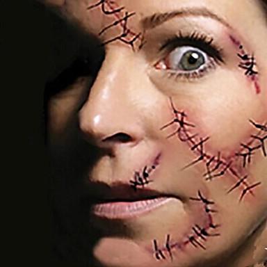Originale 1 Pcs Tatuaggi Temporanei Impermeabile - Non Toxic - Halloween Carta Tatuaggi Adesivi - Fascia Lombare - Waterproof #03458521 A Tutti I Costi