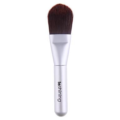 Lashining Professional Foundation Brush Soft Antibacterial Fiber Anti-allergic Makeup Tool For Travel