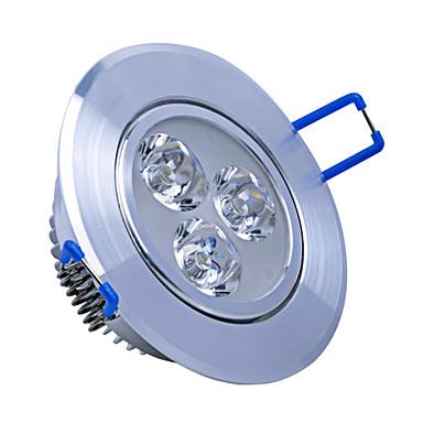 3W Spot LED 3 LED Haute Puissance 240 lm Blanc Chaud Blanc Froid AC 85-265 V 1 pièce