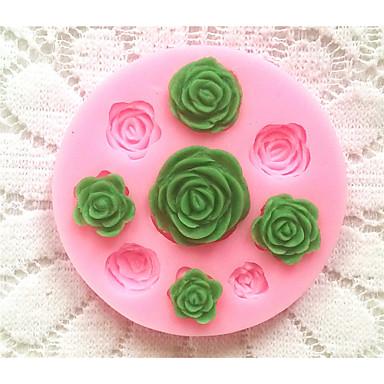 посуда силиконовые формы для выпечки выросли на помадной конфеты шоколадный торт