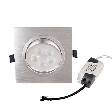 YouOKLight 450lm LED Recessed Lights 5 LED Beads High Power LED Decorative Warm White 85-265V