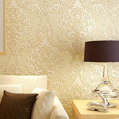 Décoration artistique Décoration d'intérieur Classique Revêtement, Intissé Matériel adhésif requis fond d'écran, Couvre Mur Chambre
