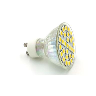 10-12 lm GU10 Spot LED C35 29 diodes électroluminescentes SMD 5050 Blanc Chaud Blanc Froid AC 220-240V