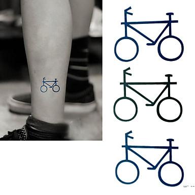 2016 새로운 그림 방수 임시 자전거 문신 붙여 넣기, 3PCS