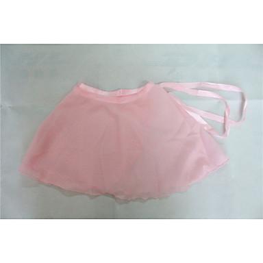 Balet Spódnice Damskie Dla dzieci Wydajność Trening Szyfon 1 sztuka Spódnica