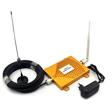 teljes készlet gsm 900MHz dcs 1800MHz kétsávos jelerősítő, mini 2g mobiltelefon jelerősítő antenna
