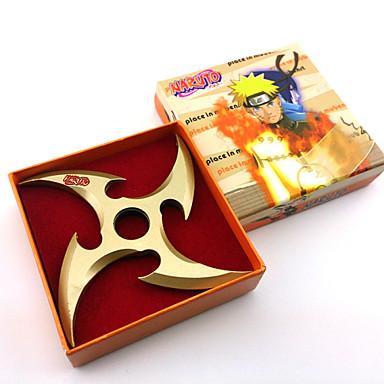 Aseet Innoittamana Naruto Cosplay Anime Cosplay-Tarvikkeet Miekka Aseet Metalliseos Miesten kuuma