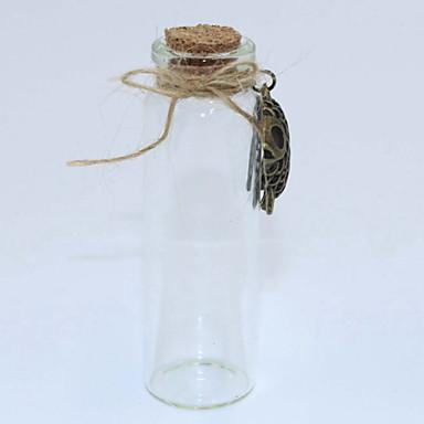 Fashion DIY Alloy/Glass/Rope/Cork Wishing/Storage Bottle