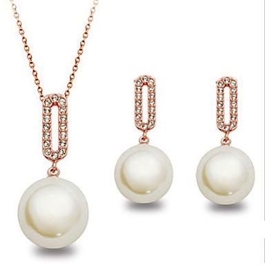 мода милые симпатичные костюмы ювелирные современной девушки женские (ожерелье и серьги)