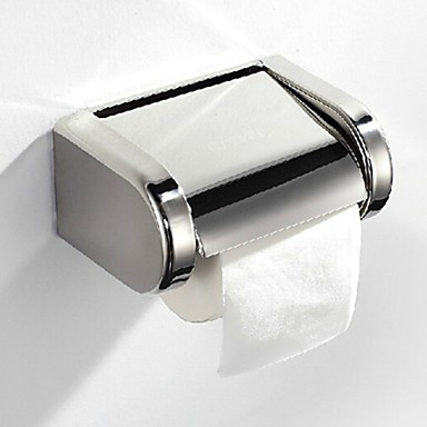 Tuvalet Kağıdı Tutacağı Çağdaş Paslanmaz Çelik 1 parça - Otel banyo